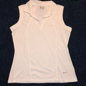 Nike FITDRY Sleeveless Polo: Size L